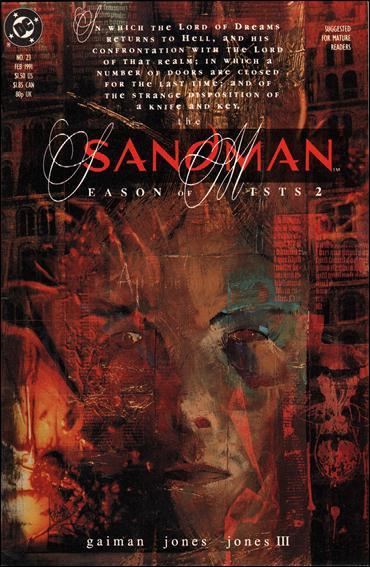 Sandman (1989) 23-A by Vertigo