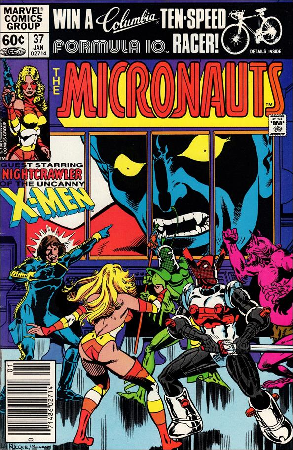 Micronauts (1979) 37-A by Marvel