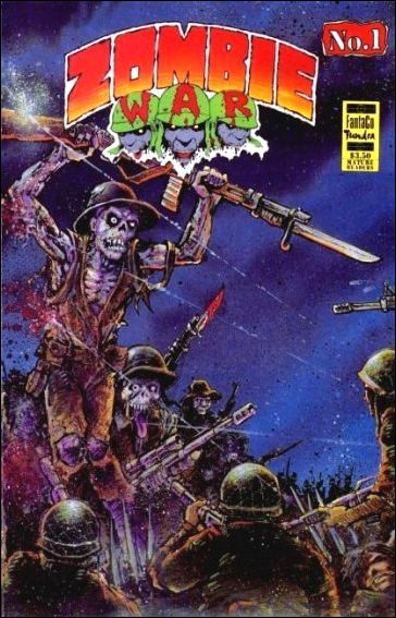 Zombie War (1992) 1-A by FantaCo