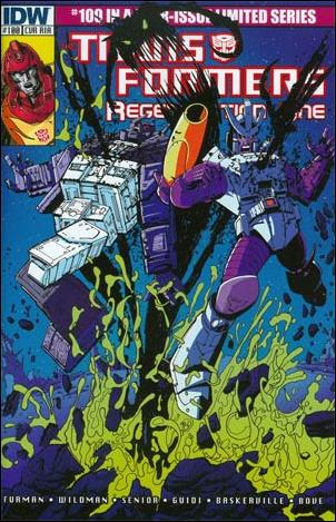 Transformers: Regeneration One 100-D by IDW