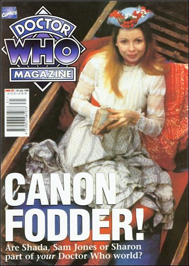 Doctor Who Magazine 267-A by Marvel UK
