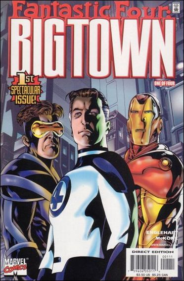 Big Town 1-A by Marvel
