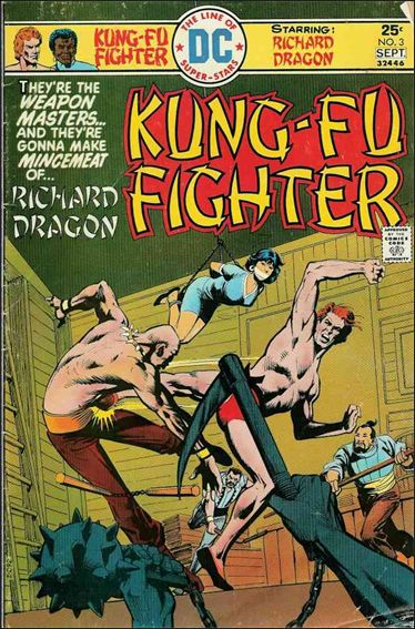 Richard Dragon, Kung-Fu Fighter 3-A by DC
