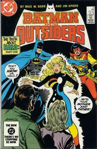 Batman and the Outsiders (1983) 16-A by DC
