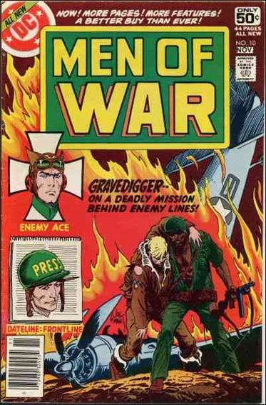 Men of War (1977) 10-A by DC