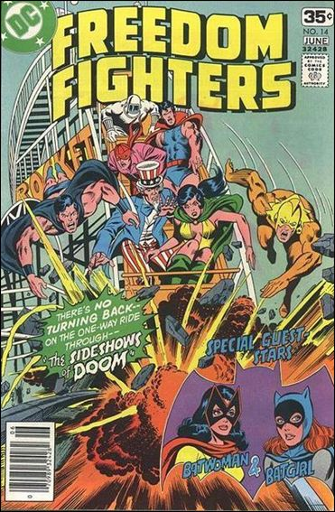 Freedom Fighters (1976) 14-A by DC