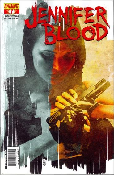 Jennifer Blood 7-A by Dynamite Entertainment