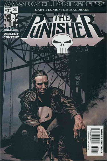 Punisher (2001) 24-A by Marvel