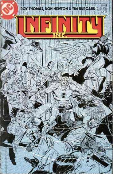 Infinity Inc. (1984) 12-A by DC