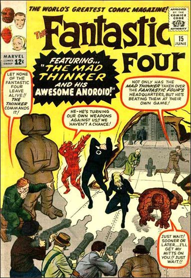 Fantastic Four (1961) 15-A by Marvel