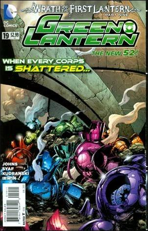 Green Lantern (2011) 19-A by DC