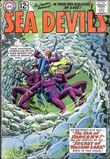 Sea Devils 4-A by DC