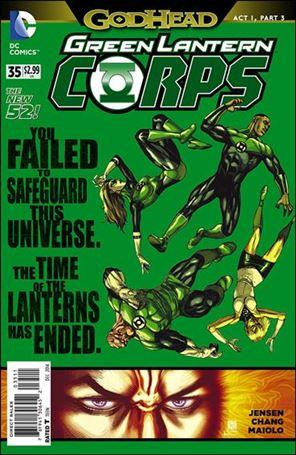 Green Lantern Corps (2011) 35-A