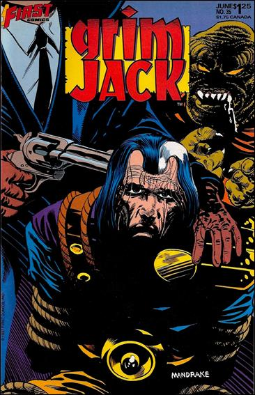 Grimjack 35-A by First