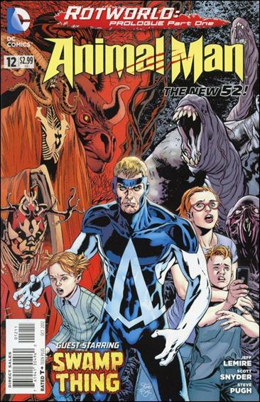 Animal Man (2011) 12-A by DC