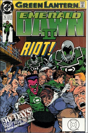 Green Lantern: Emerald Dawn II 5-A by DC