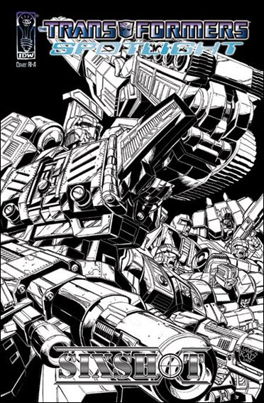Transformers Spotlight nn4-C by IDW