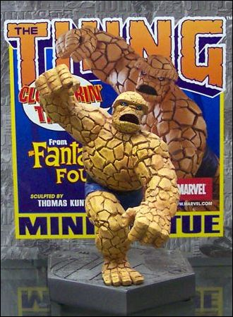 Marvel Mini-Statues Thing 1/4000 (Hexagonal Base) by Bowen Designs