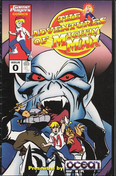 Adventures of Mighty Max 0-A by Game Players Comics