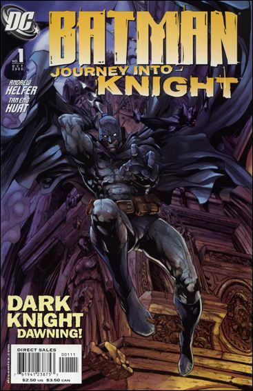 Batman: Journey into Knight 1-A by DC