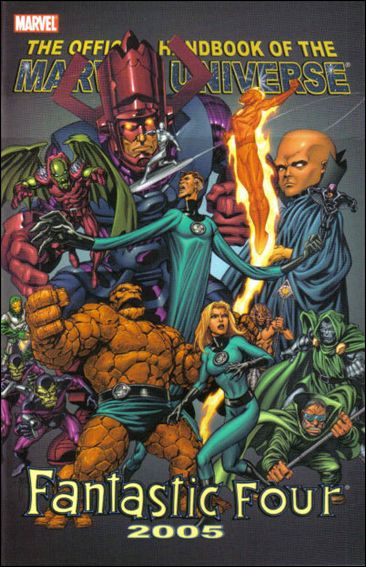 Official Handbook of the Marvel Universe: Fantastic Four 2005 nn-A by Marvel