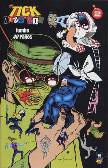 Tick The Luny Bin Trilogy 2-A by New England Comics Press (NEC / NECP)