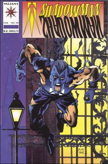 Shadowman (1992) 10-A by Valiant