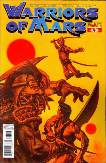Warriors of Mars 4-A by Dynamite Entertainment