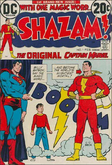 Shazam! 1-A by DC