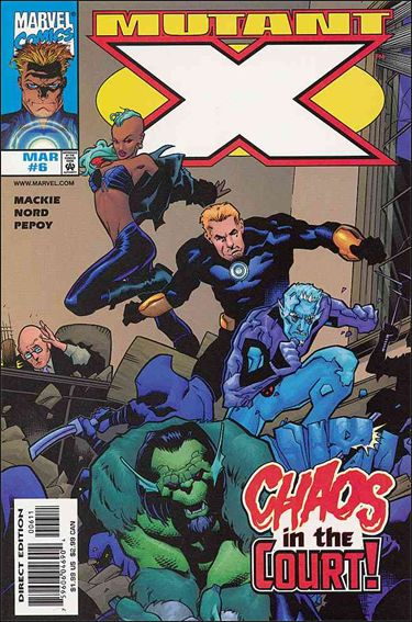 Mutant X 6-A by Marvel
