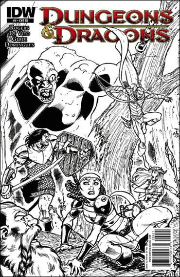 Dungeons & Dragons 9-C by IDW