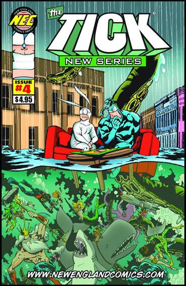 Tick New Series 4-A by New England Comics Press (NEC / NECP)