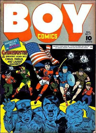 Boy Comics 7-A by Lev Gleason Productions