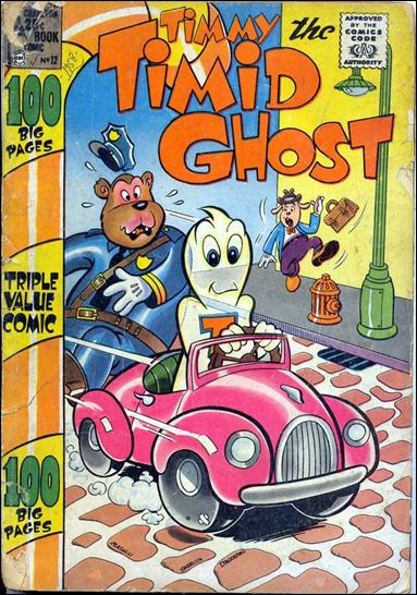 Timmy the Timid Ghost (1957) 12-A by Charlton