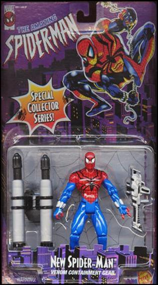 Amazing Spider-Man (1996) New Spider-Man by Toy Biz