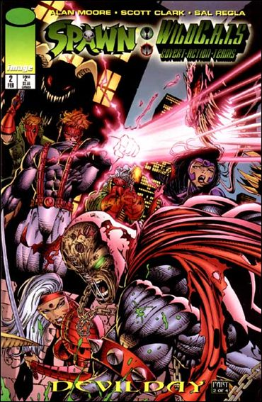 Spawn/WildC.A.T.s 2-A by Image