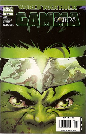 World War Hulk: Gamma Corps 2-A by Marvel