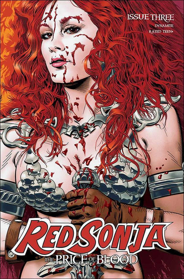Red Sonja: Price of Blood 3-B by Dynamite Entertainment