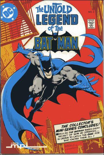 Untold Legend of the Batman 3-C by DC