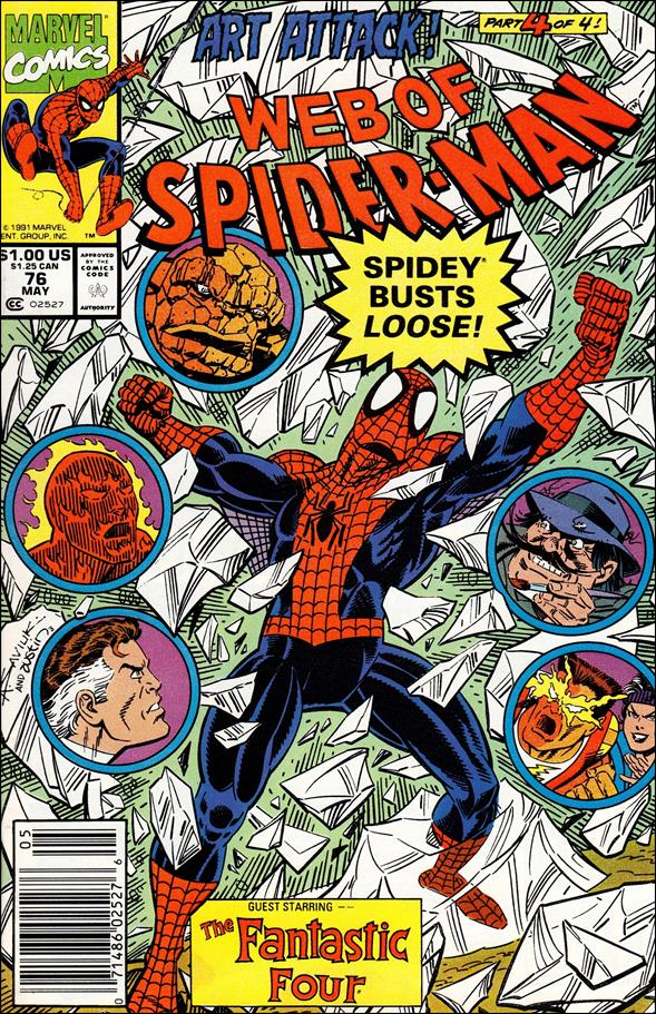 Web of Spider-Man (1985) 76-A by Marvel