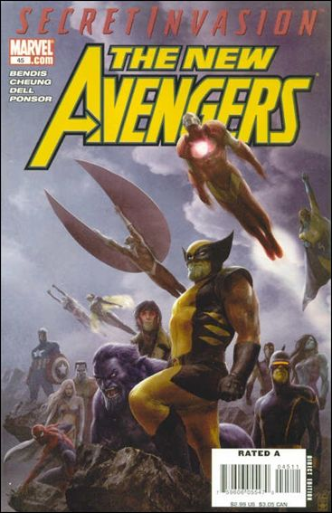 New Avengers (2005) 45-A by Marvel