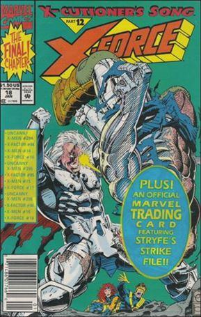 X-Force (1991) 18-A