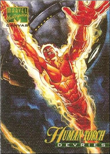 1995 Marvel Masterpieces (Canvas Subset) 9-A by Fleer