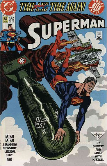 Superman (1987) 54-A by DC