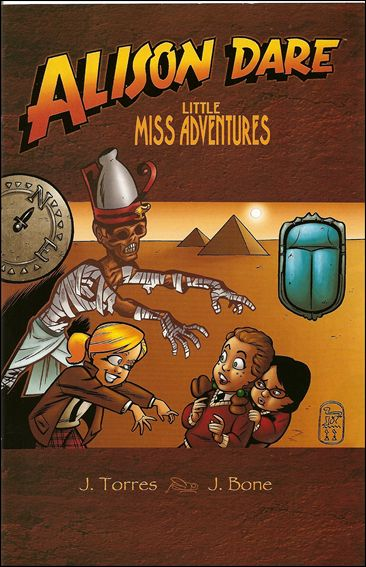Alison Dare, Little Miss Adventures 1-A by Oni Press