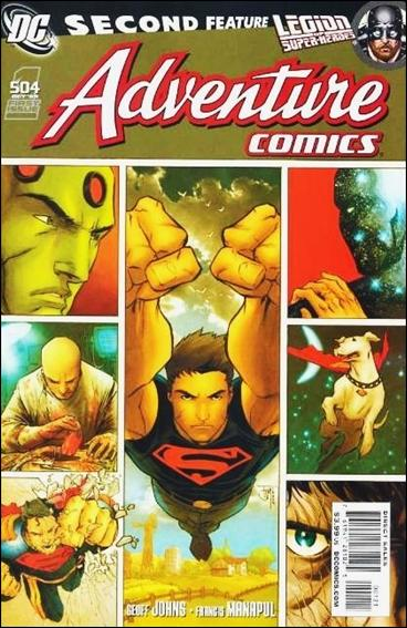 Adventure Comics (2009) '504'-B by DC