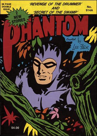 The Phantom #78 Frew Publications Golden Age B and W Australian Edition FAIR