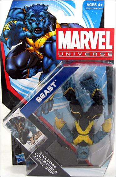 Marvel Universe (Series 4) Beast (Upside Down) by Hasbro