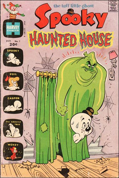 Spooky Haunted House 1-A by Harvey