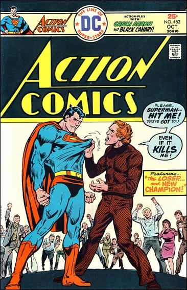 Action Comics (1938) 452-A by DC